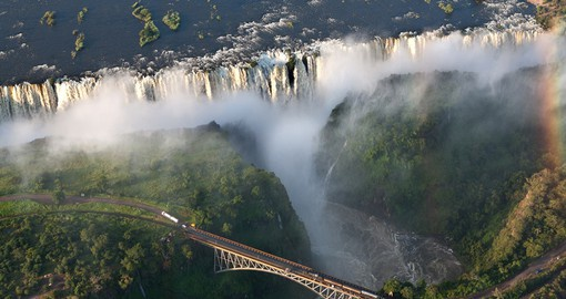 The Majestic Vic Falls
